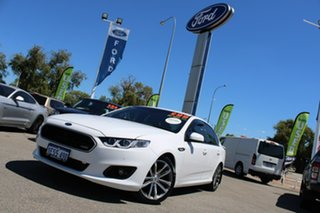 2015 Ford Falcon FG X XR6 White 6 Speed Sports Automatic Sedan.
