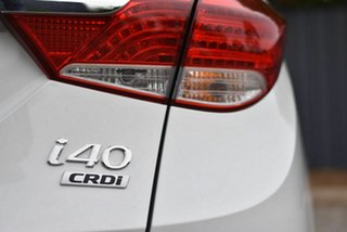 2012 Hyundai i40 VF Elite Tourer White 6 Speed Sports Automatic Wagon