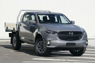 2020 Mazda BT-50 TFR40J XT 4x2 Grey 6 Speed Sports Automatic Cab Chassis.