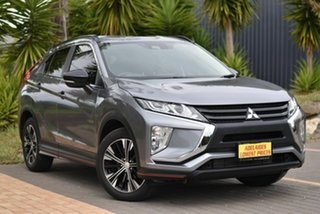 2018 Mitsubishi Eclipse Cross YA MY18 ES 2WD Silver 8 Speed Constant Variable Wagon.