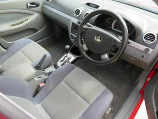 2006 Holden Viva JF Red 4 Speed Automatic Hatchback