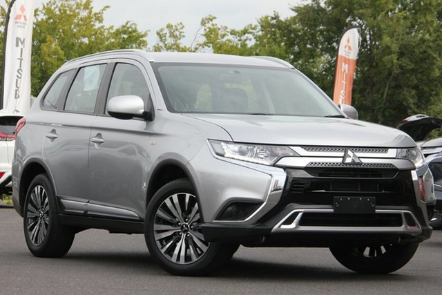 Used Mitsubishi Outlander ZL MY19 ES 2WD Essendon North, 2019 Mitsubishi Outlander ZL MY19 ES 2WD Silver 6 Speed Constant Variable Wagon
