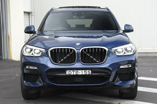2018 BMW X3 G01 xDrive30i Steptronic Blue 8 Speed Automatic Wagon