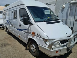 2005 313CDI LWB Mercedes-Benz Sprinter White Motor Home.
