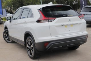 2020 Mitsubishi Eclipse Cross YB MY21 ES 2WD White 8 Speed Constant Variable Wagon.