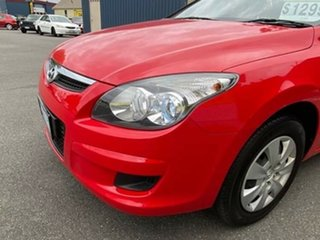 2010 Hyundai i30 FD MY10 SX cw Wagon Red 4 Speed Automatic Wagon.