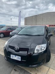 2008 Toyota Corolla ZRE152R Ascent Absolute Black 4 Speed Automatic Hatchback.