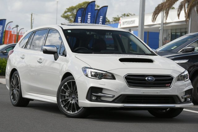 Used Subaru Levorg V1 MY20 2.0 STI Sport CVT AWD Aspley, 2020 Subaru Levorg V1 MY20 2.0 STI Sport CVT AWD Crystal White 8 Speed Constant Variable Wagon