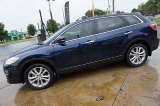 2011 Mazda CX-9 TB10A4 MY12 Luxury Stormy Blue 6 Speed Sports Automatic Wagon.