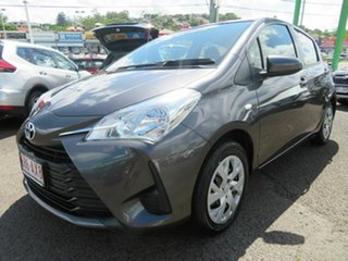 2018 Toyota Yaris NCP130R Ascent Grey 4 Speed Automatic Hatchback.