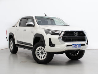 2020 Toyota Hilux GUN126R Facelift SR5 (4x4) White 6 Speed Automatic Double Cab Chassis.