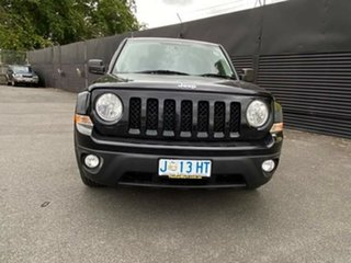 2012 Jeep Patriot MK MY2012 Limited CVT Auto Stick Black 6 Speed Constant Variable Wagon.