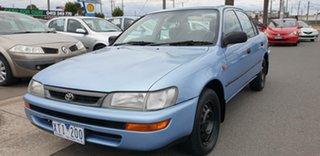 1998 Toyota Corolla AE102R Conquest 4 Speed Automatic Sedan.