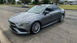 2020 Mercedes-Benz CLA-Class CLA250 D-CT 4MATIC Mountain Grey 7 Speed Sports Automatic Dual Clutch.