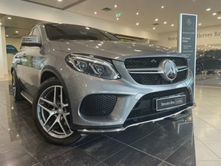 2015 Mercedes-Benz GLE-Class C292 GLE350 d Coupe 9G-Tronic 4MATIC Silver 9 Speed Sports Automatic.