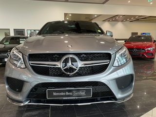 2015 Mercedes-Benz GLE-Class C292 GLE350 d Coupe 9G-Tronic 4MATIC Silver 9 Speed Sports Automatic