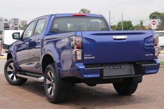 2020 Isuzu D-MAX RG MY21 LS-U Crew Cab Cobalt Blue 6 Speed Sports Automatic Utility.