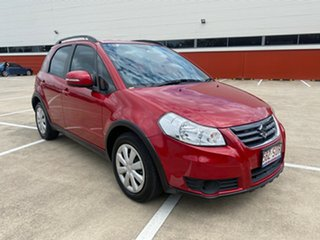 2012 Suzuki SX4 GY MY11 Red Continuous Variable Hatchback.