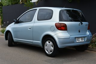 2003 Toyota Echo NCP10R MY03 Blue 5 Speed Manual Hatchback.