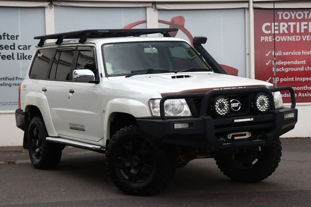 Pre-Owned Nissan Patrol Y61 GU 8 ST Ferntree Gully, 2012 Nissan Patrol Y61 GU 8 ST White 5 Speed Manual Wagon