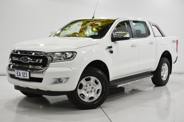 Used Ford Ranger PX MkII XLT Double Cab Brooklyn, 2016 Ford Ranger PX MkII XLT Double Cab White 6 Speed Sports Automatic Utility