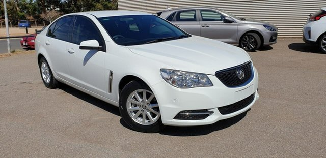 Used Holden Commodore VF MY14 Evoke Elizabeth, 2014 Holden Commodore VF MY14 Evoke White 6 Speed Sports Automatic Sedan