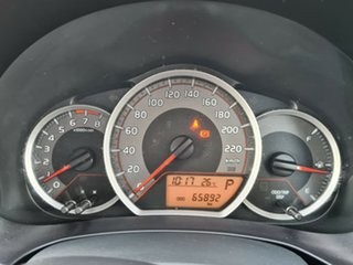 2014 Toyota Yaris NCP130R Ascent Silver 4 Speed Automatic Hatchback