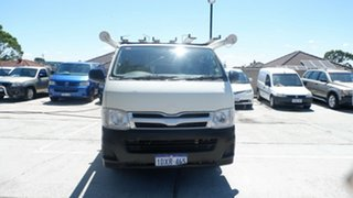 2011 Toyota HiAce TRH201R MY11 LWB White 4 Speed Automatic Van.