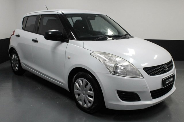 Used Suzuki Swift FZ GA Rutherford, 2011 Suzuki Swift FZ GA White 5 Speed Manual Hatchback