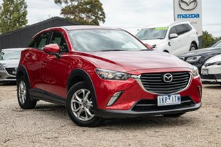 2015 Mazda CX-3 DK2W76 Maxx SKYACTIV-MT Soul Red 6 Speed Manual Wagon.