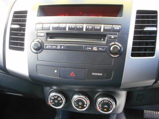2010 Mitsubishi Outlander ZH MY10 Activ Blue 6 Speed Constant Variable Wagon