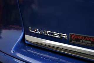 2013 Mitsubishi Lancer CJ MY13 LX Lightning Blue 5 Speed Manual Sedan