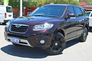 2012 Hyundai Santa Fe CM MY12 SLX Red 6 Speed Manual Wagon.