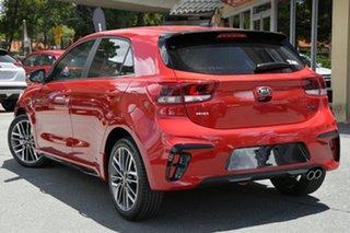 2020 Kia Rio YB MY21 GT-Line DCT Signal Red 7 Speed Sports Automatic Dual Clutch Hatchback.