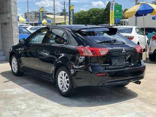 2011 Mitsubishi Lancer CJ MY11 VR Sportback Black 6 Speed Constant Variable Hatchback.