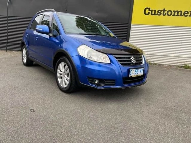 Used Suzuki SX4 GYA MY11 S Launceston, 2012 Suzuki SX4 GYA MY11 S Blue 6 Speed Constant Variable Hatchback
