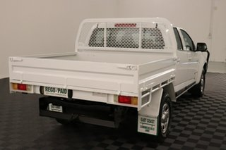 2013 Holden Colorado RG MY13 LX Crew Cab White 6 speed Automatic Cab Chassis