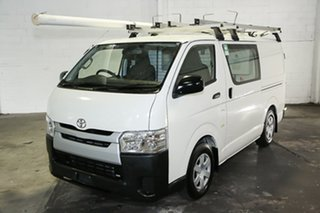 2015 Toyota HiAce KDH201R LWB White 4 Speed Automatic Van
