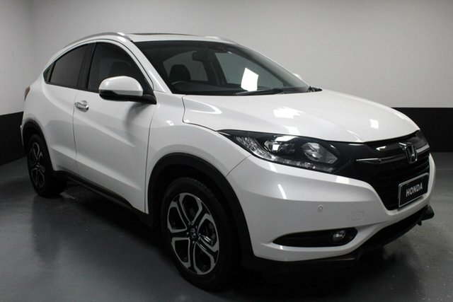 Used Honda HR-V MY17 VTi-L Hamilton, 2017 Honda HR-V MY17 VTi-L White Orchid 1 Speed Constant Variable Hatchback