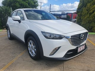2015 Mazda CX-3 DK2W76 Maxx SKYACTIV-MT Crystal White Pearl 6 Speed Manual Wagon.