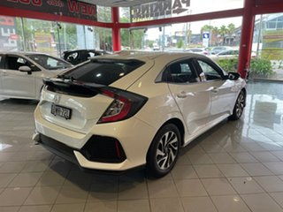 2018 Honda Civic 10th Gen MY18 VTi-S White 1 Speed Constant Variable Hatchback
