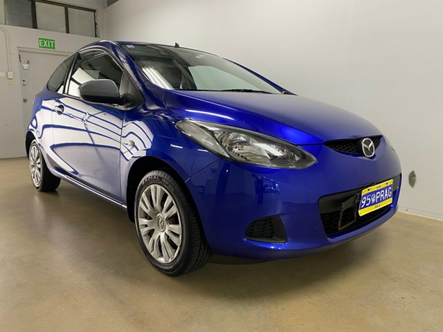 Used Mazda 2 DE Neo Phillip, 2008 Mazda 2 DE Neo Blue 5 Speed Manual Hatchback