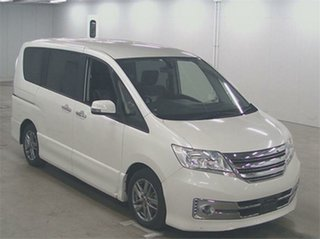 2012 Nissan Serena C26 Rider White Automatic Wagon.