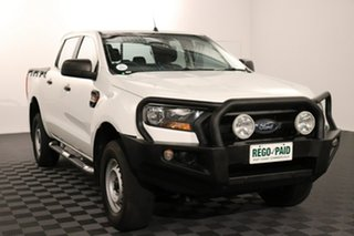 2016 Ford Ranger PX MkII XL White 6 speed Automatic Utility.