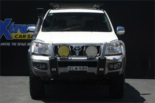 2008 Toyota Landcruiser Prado KDJ120R GXL White 6 Speed Manual Wagon.