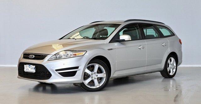 Used Ford Mondeo MC LX PwrShift TDCi Thomastown, 2012 Ford Mondeo MC LX PwrShift TDCi Silver 6 Speed Sports Automatic Dual Clutch Wagon