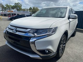 2017 Mitsubishi Outlander ZK MY18 LS 2WD White 6 Speed Constant Variable Wagon