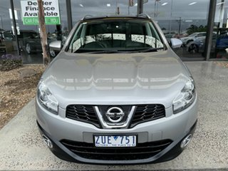 2013 Nissan Dualis J10 MY13 TI-L (4x2) Silver 6 Speed CVT Auto Sequential Wagon.