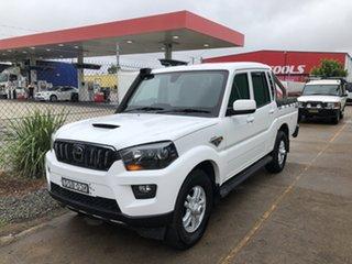 2018 Mahindra Pik-Up S10 MY18 4WD White 6 Speed Manual Dual Cab Utility.