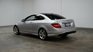 2014 Mercedes-Benz C-Class C204 MY14 C250 7G-Tronic + Silver 7 Speed Sports Automatic Coupe.